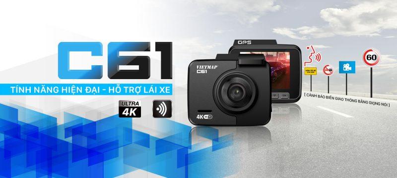 Thiết Bị Camera Hành Trình Ô tô VietMap C61