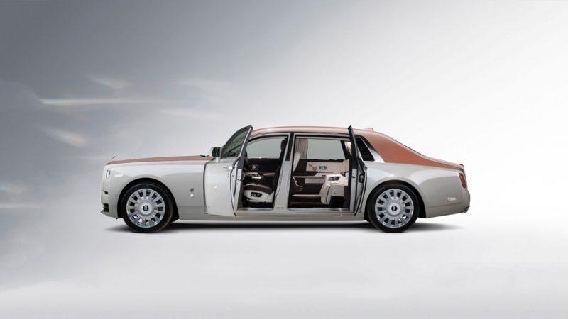 Bộ chia ghế trên Rolls-Royce Phantom