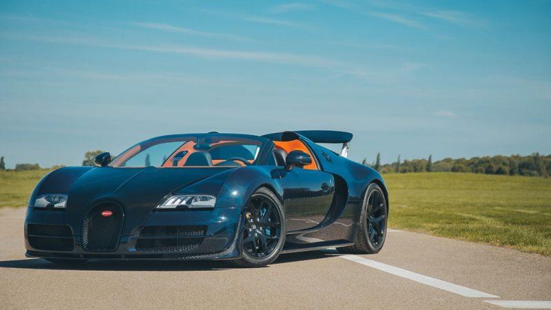 Vỏ carbon của siêu xe Bugatti Veyron