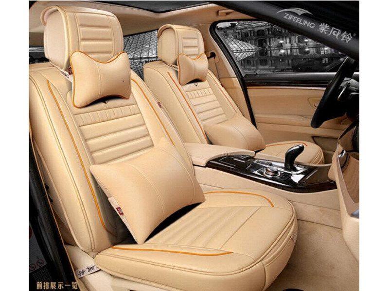 Áo bọc ghế cho xe ô tô chất liệu da mềm mại, không thấm nước