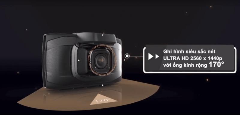 Camera có MÀN HÌNH ULTRAL HD 2560x1440p