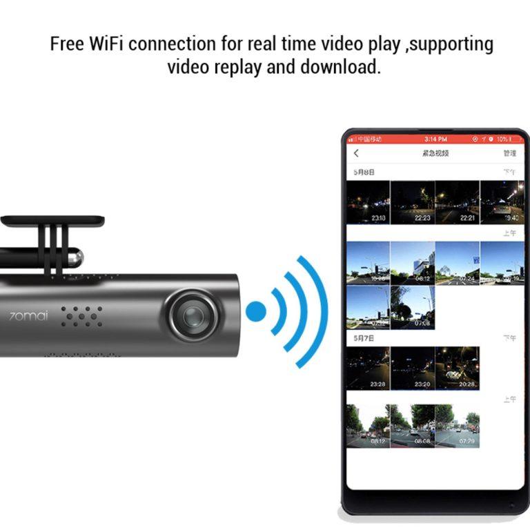 kết nối wifi và nhiều tính năng với Xiaomi 70Mai