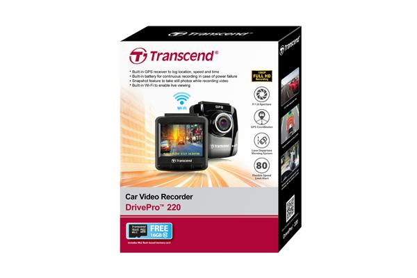 hộp phụ kiện camera hành trình Transcend DrivePro 220