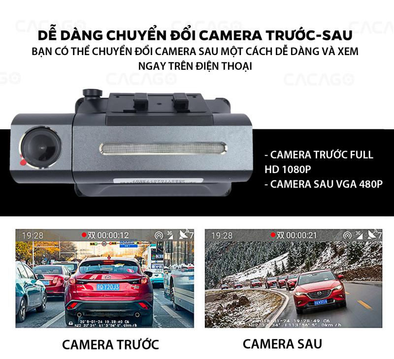 Cacago BM02 giúp bạn chuyển đổi camera trước và sau dễ dàng trên điện thoại