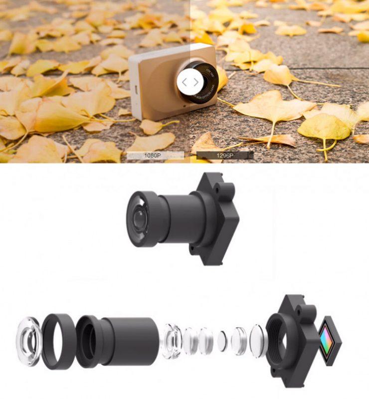 camera hành trình xiaomi với ống kính 6 lớp đẹp và thời thượng