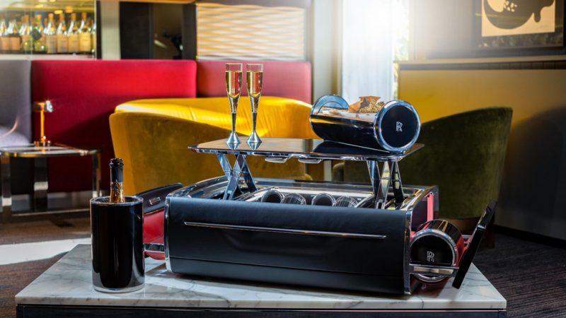 Khay đồ uống của Rolls-Royce
