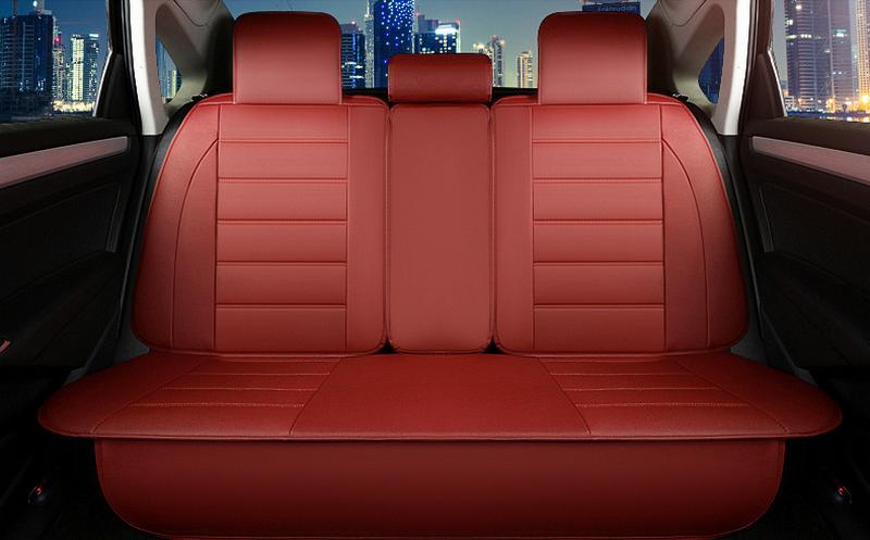 áo bọc ghế xe ô tô màu đỏ cá tính