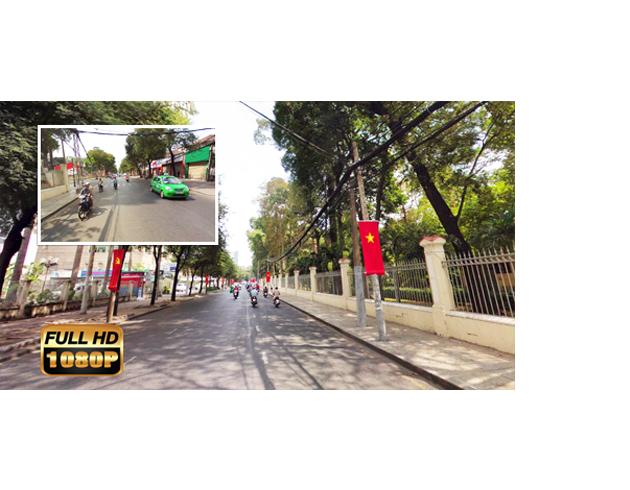 camera ghi hình cả trước và sau