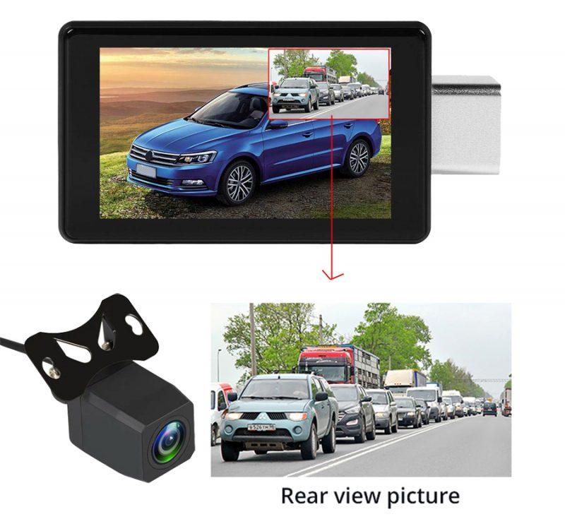 camera hành trình hỗ trợ lùi xe an toàn