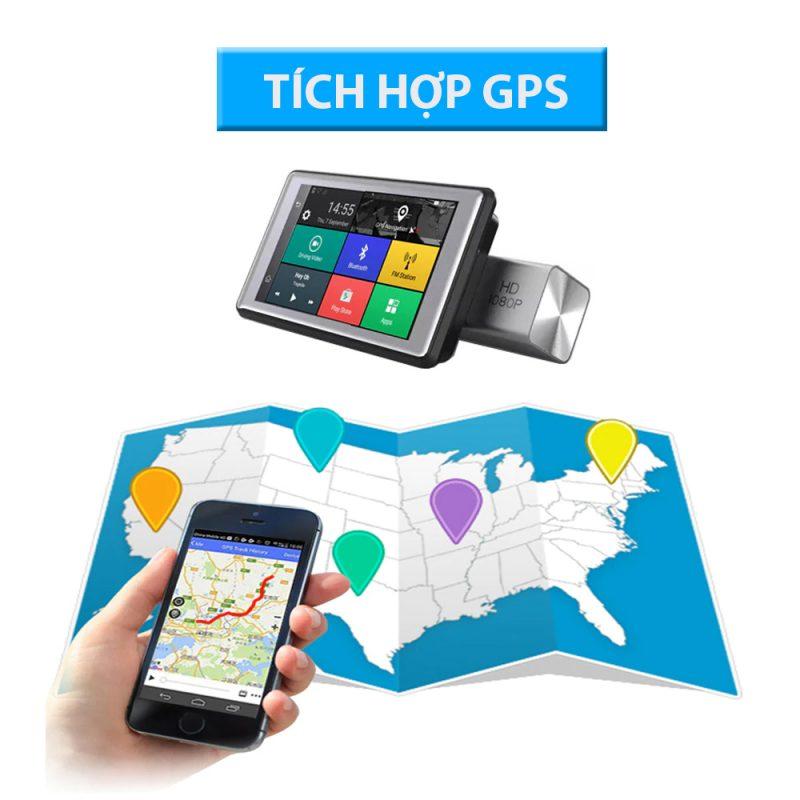 camera hành trình tích hợp GPS