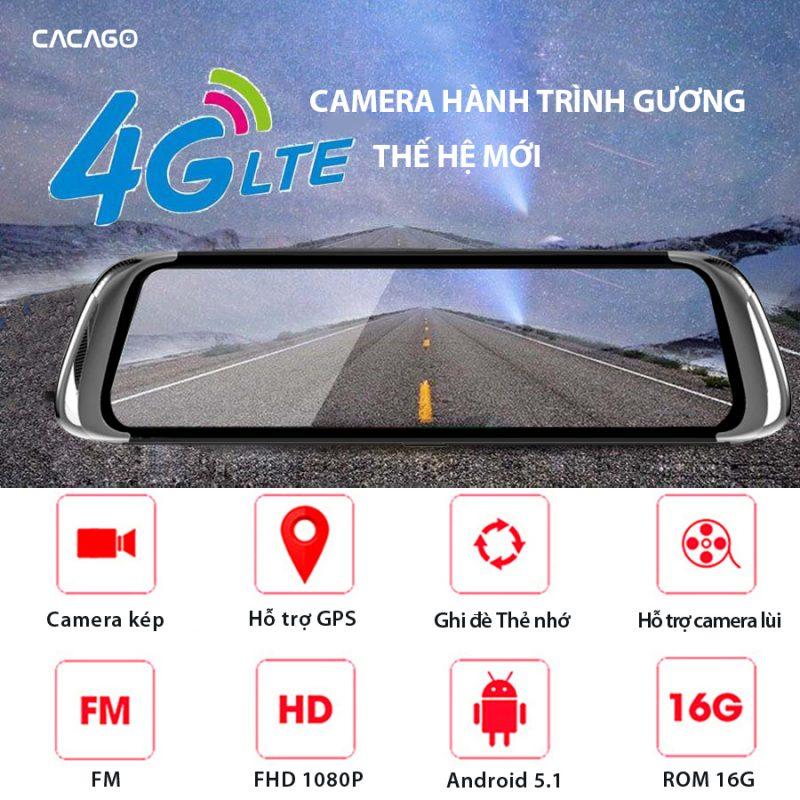 Camera hành trình xe ô tô G08S PLUS,màn full HD,camera trước sau kiêm chỉ đường