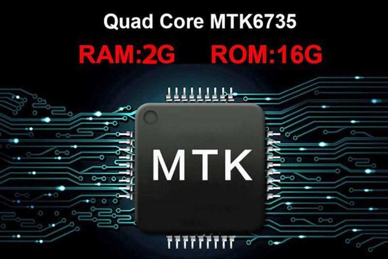 Sử dụng chip cao cấp, Ram 2G và Rom 16G