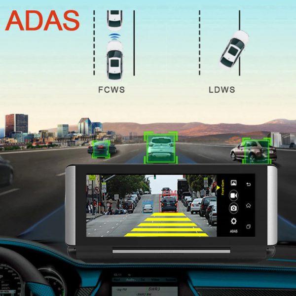 hệ thống ADAS (LDWS, FCWS và FVWS) giúp cảnh báo lái xe an toàn