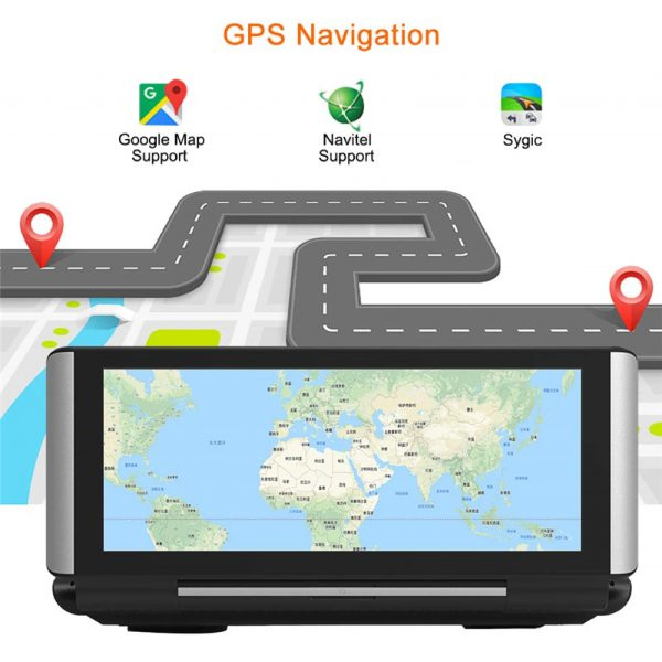 camera cacago tl02a định vị gps và tra bản đồ chính xác