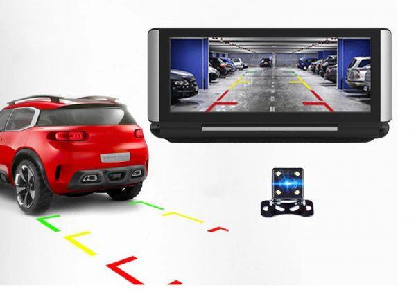 camera cacago tl02 camera sau hiển thị chế độ lùi