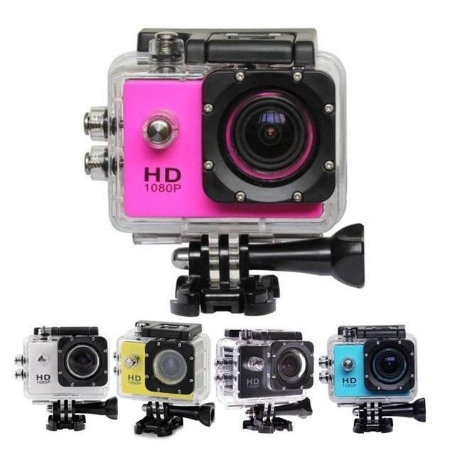 Sports Cam Full HD 1080P có nhiều màu sắc đẹp và hài hòa