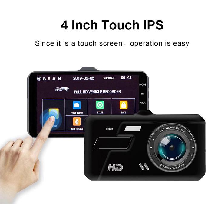 camere Trang bị màn hình cảm ứng 4 inch
