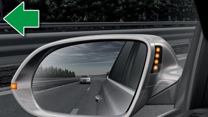 Hướng dẫn cách chỉnh gương chiếu hậu xe ô tô để tránh điểm mù Guong-chieu-hau-800x450
